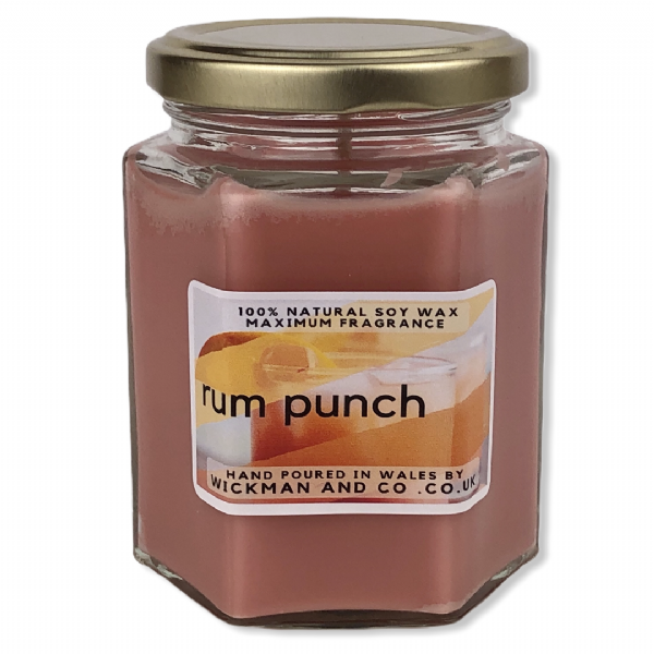 Rum Punch Soy Wax Candle